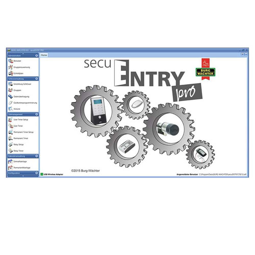 secuENTRY pro 7083 Software